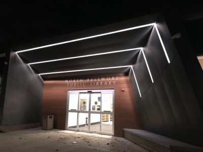 LED Lighting at North Bellmore Library