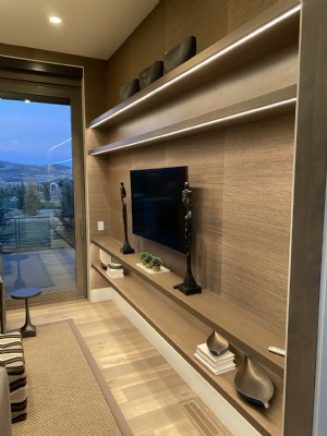 LED Lighting at Utah Residence
