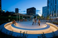 LED Lighting at South Plaza At Kendall Square