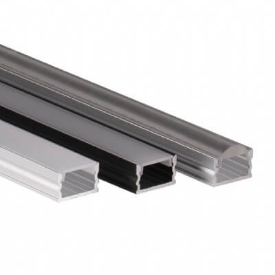LALO - Mid-low profile LED aluminum extrusion