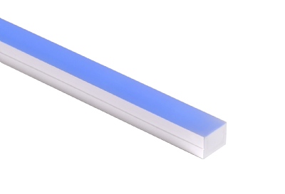 BOXA-RGBW-HE - Up/down bend RGBW high efficacy flexible encapsulated fixture