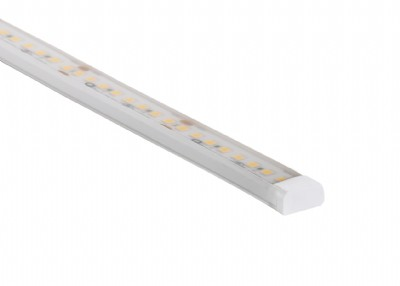 WURM-SW-HE - Up/down & helical bend static white high efficacy flexible encapsulated fixture