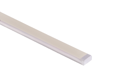 WURM-SW - Up/down & helical bend static white flexible encapsulated fixture