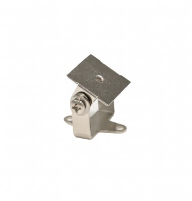 Pivot Bracket - Small mounting accessory for Q-Tran extrusions and rigid fixtures