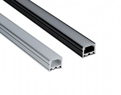TALO - Sleek flat lens LED aluminum extrusion