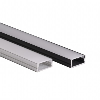 WIDE - Wide profile LED aluminum extrusion